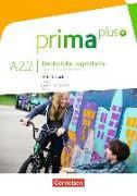 Cover-Bild zu Prima plus A2.2. Deutsch für Jugendliche. Arbeitsbuch mit CD-ROM von Rohrmann, Lutz