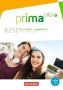 Cover-Bild zu Prima plus A2.1. Deutsch für Jugendliche. Schülerbuch von Jin, Friederike