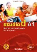 Cover-Bild zu Studio d A1. Gesamtband. Kurs- und Übungsbuch von Funk, Hermann