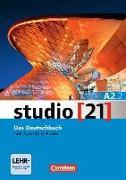 Cover-Bild zu studio 21 A2.2. Das Deutschbuch. Kurs- und Übungsbuch mit DVD-ROM von Funk, Hermann (Hrsg.)