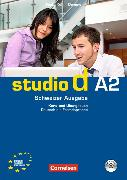 Cover-Bild zu studio d A2. Schweizer Ausgabe. Kurs- und Übungsbuch von Kuhn, Christina