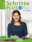 Cover-Bild zu Schritte plus Neu 1. A1/1. Kursbuch + Arbeitsbuch mit CD zum Arbeitsbuch von Bovermann, Monika