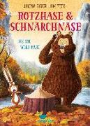Cover-Bild zu Rotzhase & Schnarchnase - Das Tal wird kahl - Band 4 von Gough, Julian