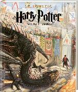 Cover-Bild zu Harry Potter und der Feuerkelch (farbig illustrierte Schmuckausgabe) (Harry Potter 4)