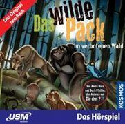 Cover-Bild zu Marx, André: Das wilde Pack (Folge 6) - Das wilde Pack im verbotenen Wald (Audio CD)