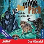 Cover-Bild zu Marx, André: Das wilde Pack (Folge 3) - Das wilde Pack und der geheime Fluss (Audio-CD)