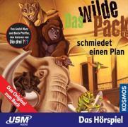 Cover-Bild zu Marx, André: Das wilde Pack (Folge 2) - Das wilde Pack schmiedet einen Plan (Audio-CD)