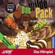 Cover-Bild zu Marx, André: Das wilde Pack (Folge 7) - Das wilde Pack in geheimer Mission (Audio CD)