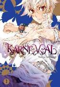 Cover-Bild zu Touya Mikanagi: Karneval, Vol. 1
