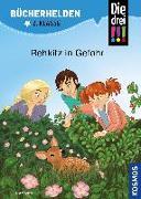 Cover-Bild zu Ambach, Jule: Die drei !!!, Bücherhelden 2. Klasse, Rehkitz in Gefahr