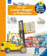 Cover-Bild zu Alles über Laster, Bagger und Traktoren