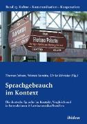 Cover-Bild zu Berkenbusch, Gabriele (Reihe Hrsg.): Sprachgebrauch im Kontext (eBook)