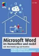 Cover-Bild zu Tuhls, G. O.: Microsoft Word im Homeoffice und mobil (eBook)