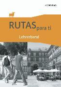 Cover-Bild zu Rutas para ti. Lehrerband