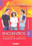 Cover-Bild zu Encuentros 3B. Nueva Edición. Cuaderno de ejercicios. Lehrerfassung