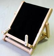 Cover-Bild zu Bookchair Medium Schwarz - Buchständer Tablethalter aus Holz