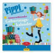 Cover-Bild zu Pippi Langstrumpf immerwährender Geburtstagskalender