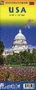 Cover-Bild zu USA. 1:2'300'000
