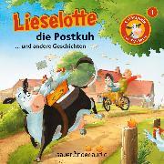 Cover-Bild zu Krämer, Fee: Lieselotte Filmhörspiele, Folge 1: Lieselotte die Postkuh (Vier Hörspiele) (Audio Download)