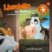 Cover-Bild zu Krämer, Fee: Lieselotte Filmhörspiele, Folge 4: Lieselotte ist fleißig (Vier Hörspiele) (Audio Download)