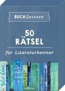 Cover-Bild zu Buchquizzen - 50 Rätsel für Literaturkenner