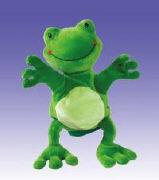 Cover-Bild zu Frosch-Handpuppe Gustav