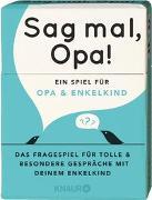 Cover-Bild zu Sag mal, Opa!
