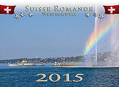 Cover-Bild zu Westschweiz / Suisse Romande 2015