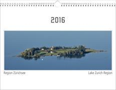 Cover-Bild zu Region Zürichsee 2016 (Format A4)