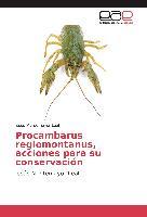 Cover-Bild zu Procambarus regiomontanus, acciones para su conservación