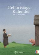 Cover-Bild zu Quint Buchholz Geburtstagskalender Plus