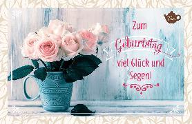 Cover-Bild zu Zum Geburtstag viel Glück und Segen!