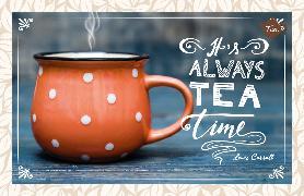 Cover-Bild zu It's always Tea Time. Lewis Carroll