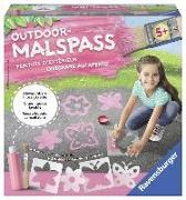 Cover-Bild zu Outdoor Malspaß Schmetterling (rosa)