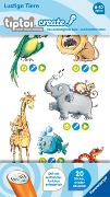 Cover-Bild zu tiptoi® Create Sticker Lustige Tiere