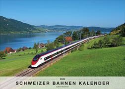 Cover-Bild zu Schweizer Bahnen Kalender 2020