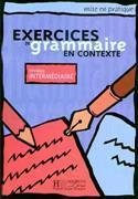 Cover-Bild zu Exercices de grammaire en contexte. niveau intermédiare