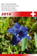 Cover-Bild zu Alpen- und Gartenblumen 2014