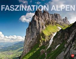 Cover-Bild zu Faszination Alpen Posterkalender quer 2015