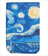 Cover-Bild zu Cover Pocketbook Touch HD 2 Shell pattern blau