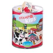 Cover-Bild zu Stampo Kids - Lili auf dem Bauernhof