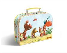 Cover-Bild zu Der kleine Drache Kokosnuss - Pappkoffer