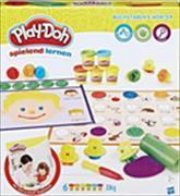 Cover-Bild zu Play-Doh Kleine Knetschule Buchstaben & Wörter