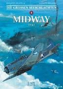 Cover-Bild zu Delitte, Jean-Yves: Die großen Seeschlachten 5. Midway
