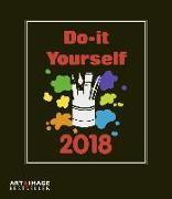 Cover-Bild zu Do-it-yourself Bastelkalender 2018 A&I
