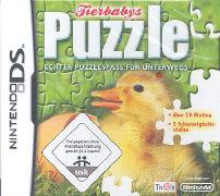 Cover-Bild zu Tierbabys Puzzle