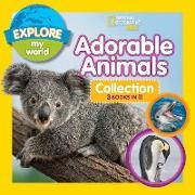 Cover-Bild zu Esbaum, Jill: Explore My World Adorable Animals Collection 3-in-1 (Bind-Up)