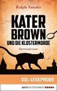 Cover-Bild zu eBook XXL-Leseprobe: Kater Brown und die Klostermorde