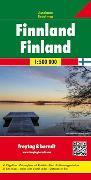 Cover-Bild zu Finnland, Autokarte 1:500.000. 1:500'000