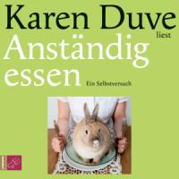 Cover-Bild zu Anständig essen von Duve, Karen